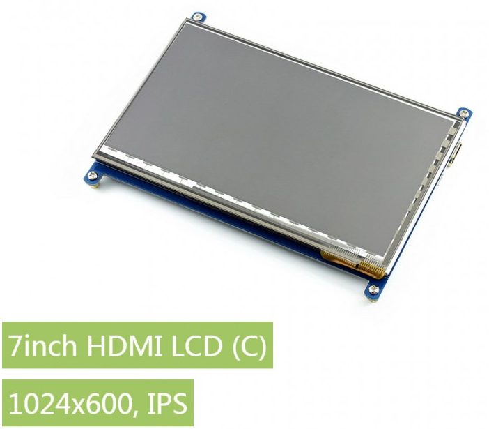 7inch HDMI LCD [C], Waveshare Electronics Ltd.